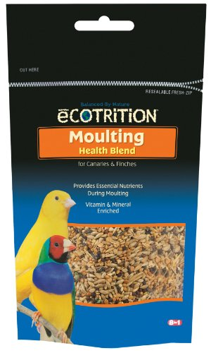 8in1 Canary/Finch eCOTRITION Moulting Food (Pouch), 8-Ounce, My Pet Supplies