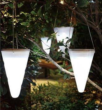 Yosoo LED Lampe solaire à suspendre Ampoule coloré pour Décoration ...