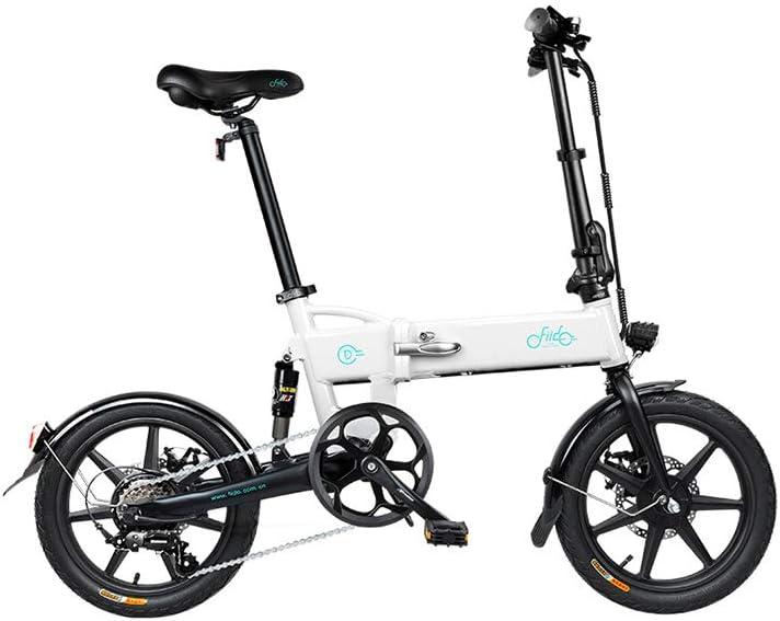 QoLeya Bicicleta eléctrica Plegable FIIDO D2S, Bicicleta eléctrica ...