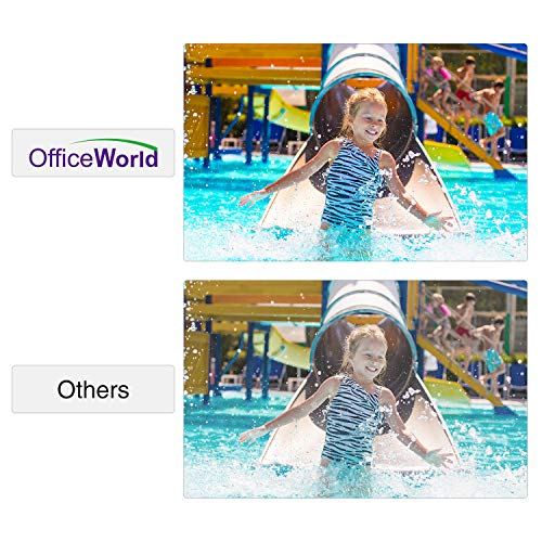 OfficeWorld Compatible Toner Cartridge Replacement for HP 410X 410A High Yield, Work with Laserjet Pro MFP M477fdw M477fnw M477fdn M452dw M452nw M452dn M377dw, 4 Pack (Black, Cyan, Magenta, Yellow)