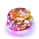20M 200 LED Multicolour Copper Wire String Lights ICOCO Waterproof LEDs ...