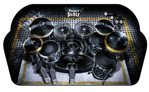 Paper Jamz Instant Rock Star Drum Series 1 Drums Style 6 Woman, Rock Star Take It To The Limit (Wowwee Paper Jamz Amplifier)