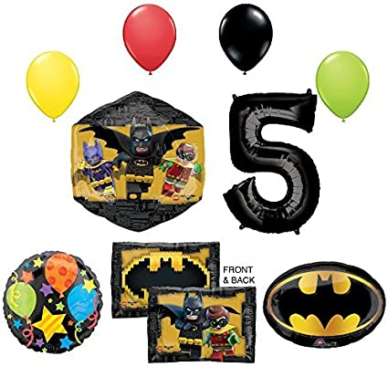Amazon.com: La película de Lego Batman 5th Fiesta de ...