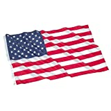 US American Deluxe Nylon Flag - Made From Nylon. Dimensions: 3 Feet x 5 Feet. This Durable Printed Flag Can Be Displayed Either Indoors or Outdoors