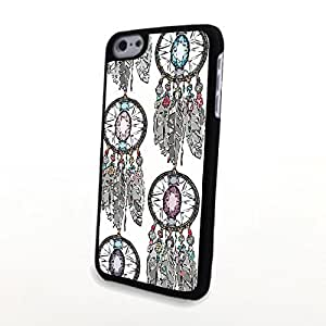 linJUN FENGGeneric Beautiful Dream Catcher PC Phone Cases fit for iphone 4/4s Cases Case Cover Plastic Protector Matte Shell Firm Light Clear