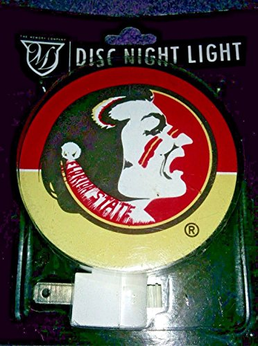 The Memory Company Florida State Seminoles DISC Night Light - Florida State Seminoles Lamp
