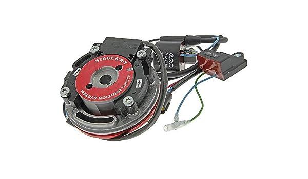 Stage6 R/T Racing Team Interior Rotor Sistema de encendido para Derbi Atlantis 50 Ac/Lc, Bullet 50 Ac Piaggio Motor, GP 1 Open 50: Amazon.es: Coche y moto
