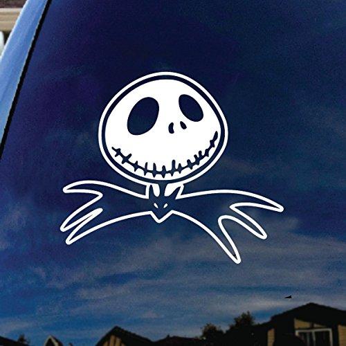 Jack Cartoon Character Bat Tie Car Window Vinyl Decal Sticker 5