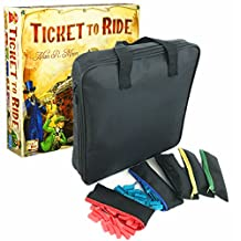 MageCraft-Travel Carrying Storage Case For Ticket To Ride Or Ticket To Ride Europe