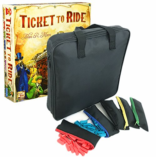 MageCraft Travel Carrying Storage Case For Ticket To Ride Or Ticket To Ride (Ticket Case)