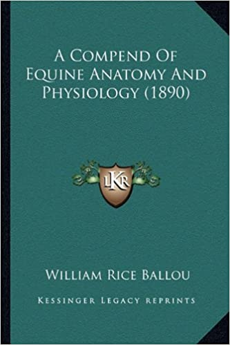 A Compend Of Equine Anatomy And Physiology (1890): William Rice ...