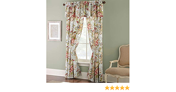 """ROSE TREE Wingate Collection WINDOW VALANCE NEW 80/"""" X 14/"""""""