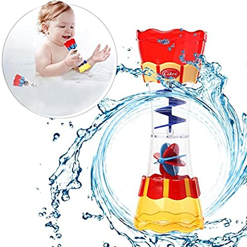 Iusun Kids Submarine Spray Station Bath Toy Hand Shower Operated Water Pump Shower Gift (A) (Movie Cool Dry Place)