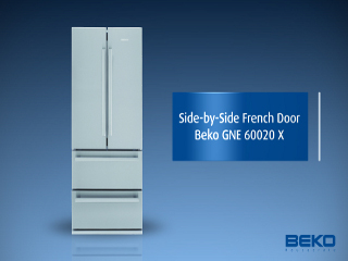 Side By Side Kühlschrank Beko : Beko gne side by side a kühlen l