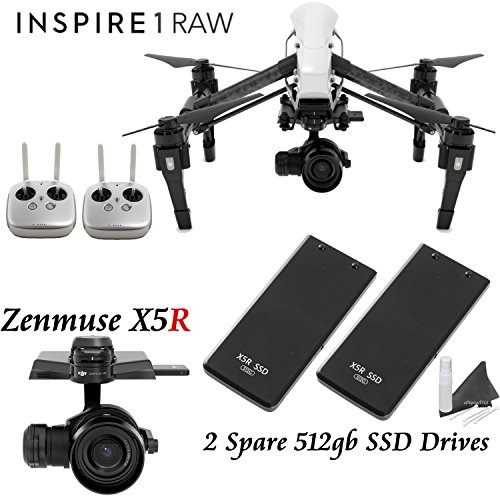 DJI-Inspire-1-RAW-Dual-Remote-Bundle-with-2-Spare-DJI-512GB-SSD-Drives-more