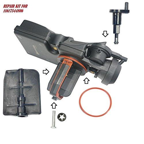 - Sentinel Parts Air Intake Manifold Flap Adjuster Unit DISA Valve Repair Kit & O-Ring for 01-06 BMW 2.5L 11617544806