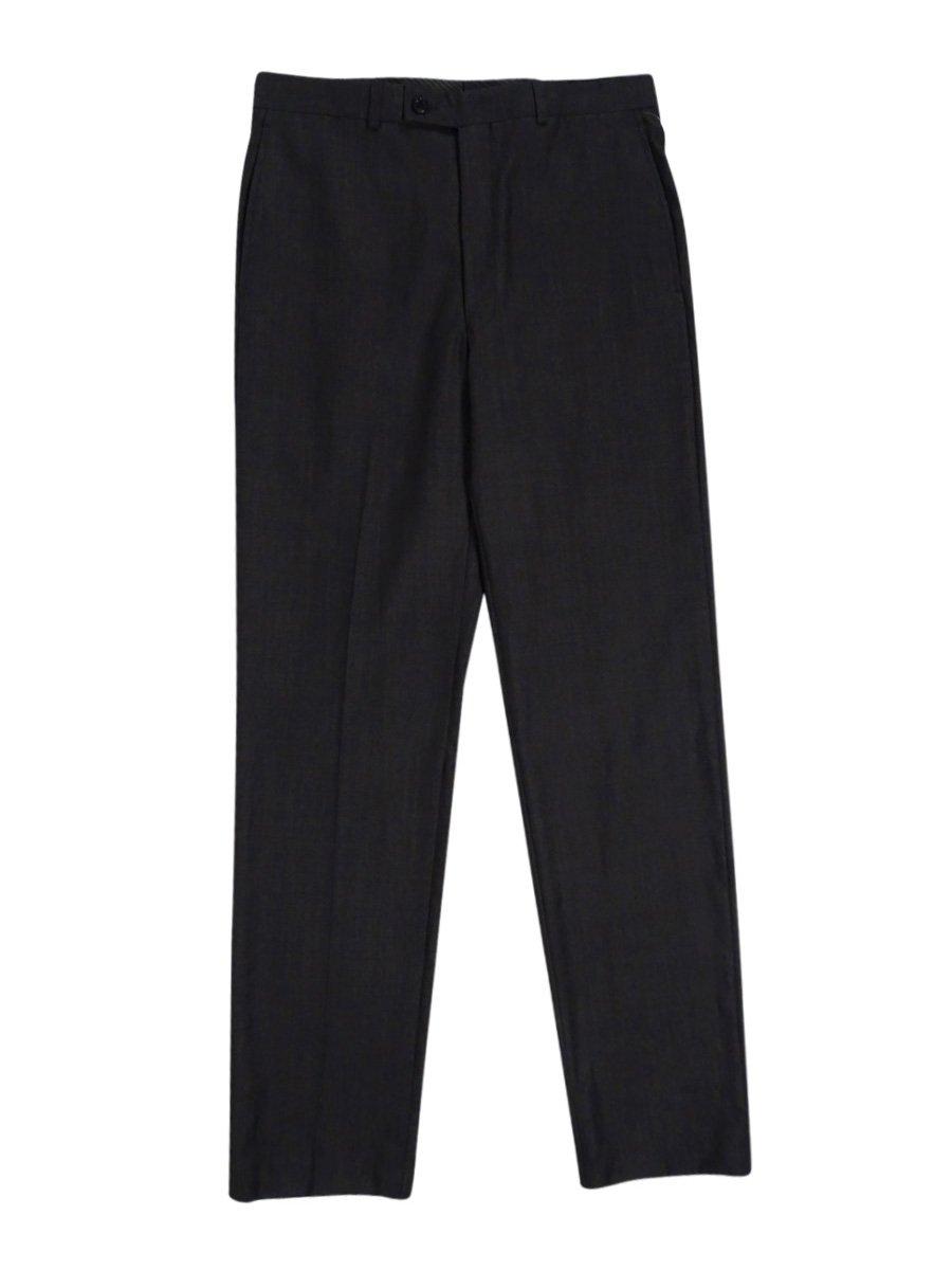 Calvin Klein Slim Fit Pants Flat Front Tan Black New Men's Dress Pants (32W x 34L)