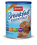 Carnation Instant Breakfast Essentials Drink Mix, Rich Milk Chocolate, No Sugar Added, 8.46-Ounce Canisters (Pack of 3)
