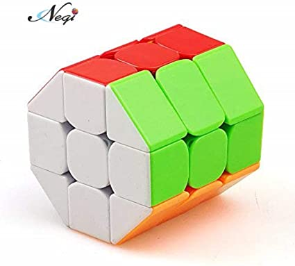 Negi Stickerless Speed Magic Cube 3x3 Barrel Cube