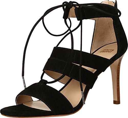Johnston & Murphy Women's Natasha Dress Sandal, Black, 10 M US Johnston & Murphy Suede Heels