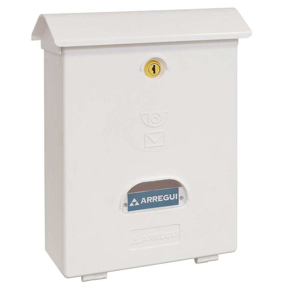 Arregui E1071 - Buzon Clasico plastico blanco E1071