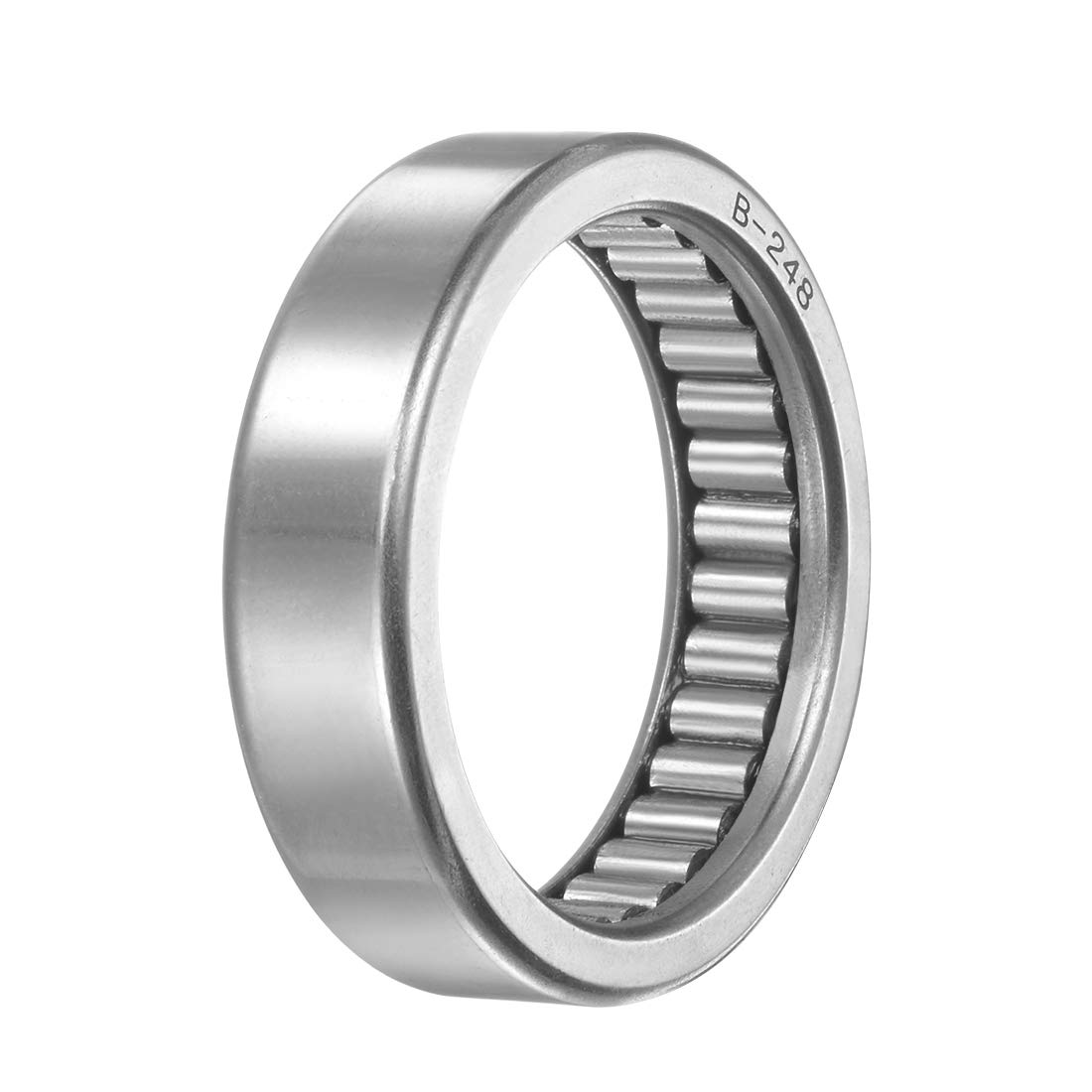 Open Full Complement Drawn Cup uxcell B248 Needle Roller Bearings 1-7//8-inch OD 1//2-inch Width 7830N Static Load 4780N Dynamic Load 4300Rpm Limiting Speed 1-1//2-inch I.D