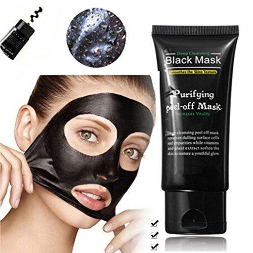 Kemilove Blackhead Remover Mask ,Blackhead Cleansing Mask Cleaner Face Mask/Deep Clean Blackhead/Farewell Strawberry Nose/Blackhead Killer Facial Masks Black (Black (Standard (Killer Masks)