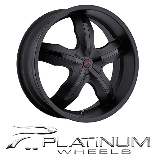 (Platinum Widow 17 Black Wheel / Rim 5x100 & 5x4.5 with a 42mm Offset and a 73 Hub Bore. Partnumber 212-7718B )