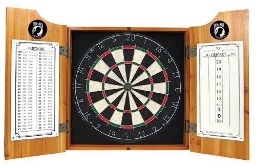 - POW Wood Dart Cabinet Set