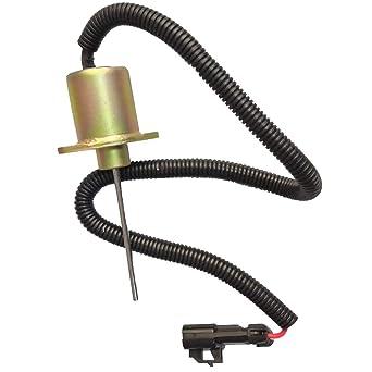 25-38109-05S Fuel Solenoid for Kubota V2203-DI Carrier Vector 1800 1800MT 12V