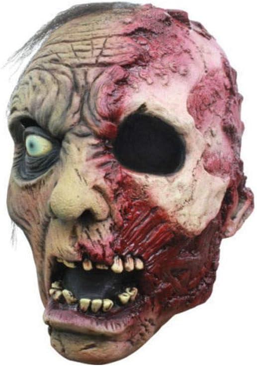 Horror-Shop Máscara del zombi quemado: Amazon.es: Juguetes y juegos