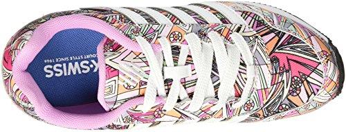 Amazon.com | K-Swiss New Haven Platform Mod Youth US 5 Multi Color Sneakers  | Fitness & Cross-Training