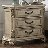 Messina Estates II 3 Drawer Nightstand