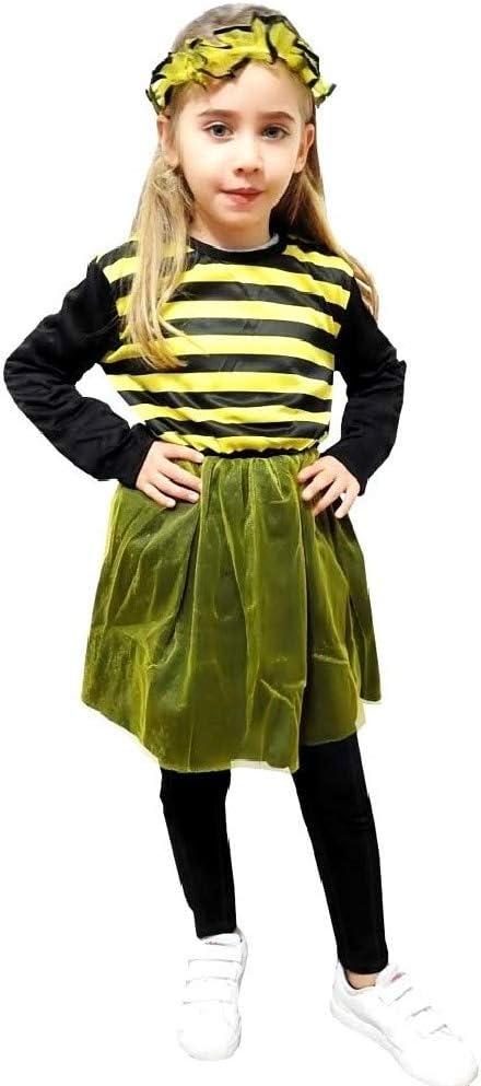 Disfraz de abeja para niño vestido con traje de carnaval talla s 3 ...