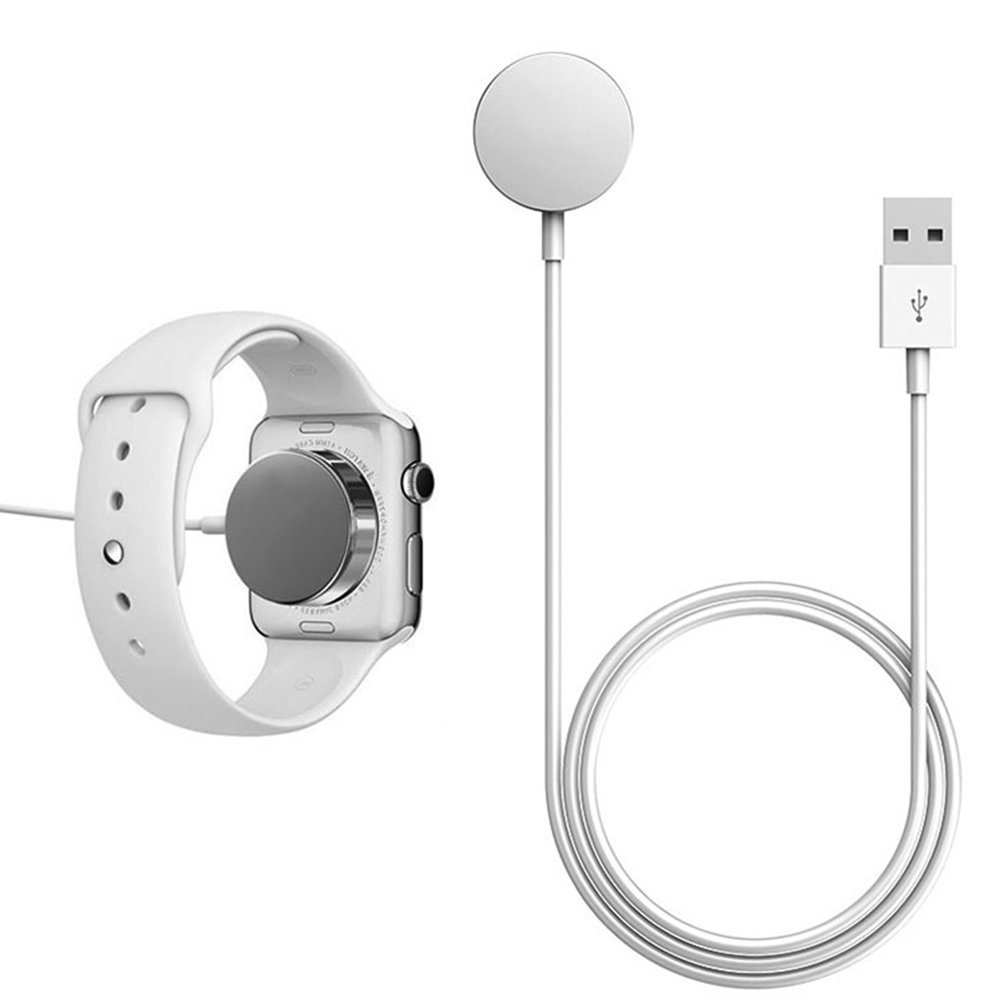 PinPle(TM) Wireless Charger with Magnetic Charging Cable Data Line USB Charging Cable for Apple Watch