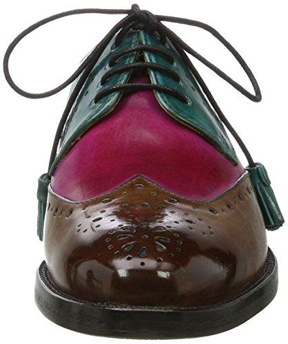 amp; Crust Turquoise Melvin Betty Crust Dk pink Mink Multicolore 3 Turquoise Hrs Turquoise pink Derbys Dk Hrs Tassel Mink Femme Turquoise Hamilton Tassel dq1qprZ