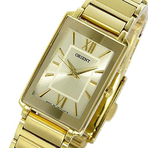 Orient quartz ladies watch SUBTT006C0 gold