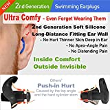 WaterDam Swimming Ear Plugs for Adults and Kids