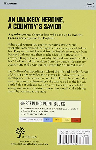Sterling Point Books®: Joan of Arc: Warrior Saint by Sterling (Image #1)