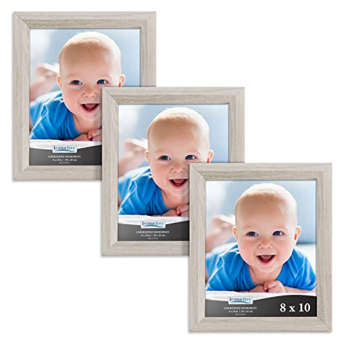 Icona Bay 8x10 Picture Frames Set of 3 , Picture Frame Set F