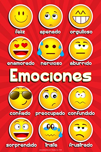 EMOTIONS POSTER (SPANISH)