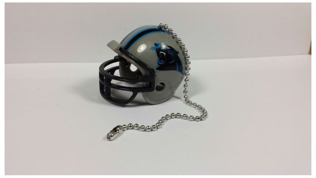 (Carolina Panthers) - NEW NFL Ceiling Fan Helmet Pull Chain Lamp Pull Chain   B01MSELUWE