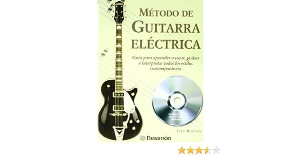 Método de guitarra eléctrica (1 tomo + 1 CD) (Música): Amazon.es ...