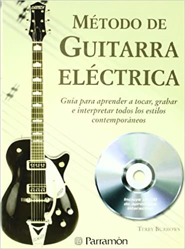 METODO DE GUITARRA ELECTRICA 1CD (Spanish Edition): Terry Burrows ...