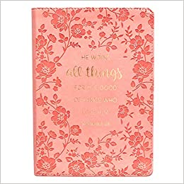 Amazon.com: All Things For The Good Pink LuxLeather Journal ...