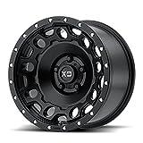 XD Series by KMC Wheels XD129 Holeshot Satin Black Wheel (17x9''/5x114.3mm, -12mm offset)
