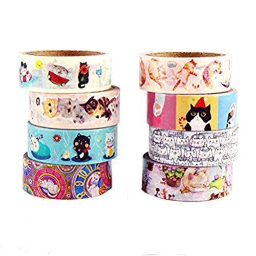 Kitty Cat Scrapbooking - Cat Washi Tape (Creative cat)