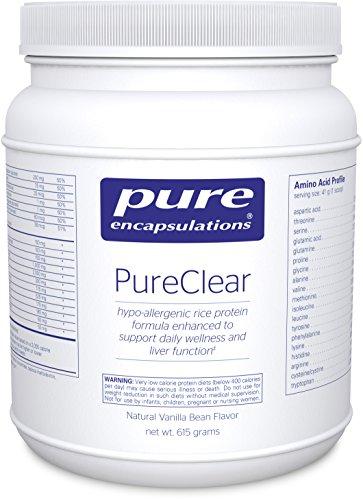 Pure Encapsulations - saveur vanille de PureClear - 615gr