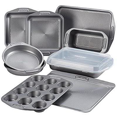 Circulon 10 Piece Total Nonstick Bakeware Set, Large, Gray