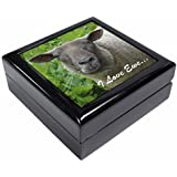 Sheep I Love Ewe Sentiment Keepsake/Jewellery Box Christmas Gift by Advanta - Jewellery Boxes